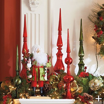 New 83 best Christmas finials and glass tree toppers images on  XI45