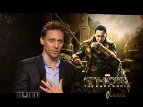 Tom Hiddleston Talks THOR 2, His Popularity Online, Solo LOKI Movie, CRI...