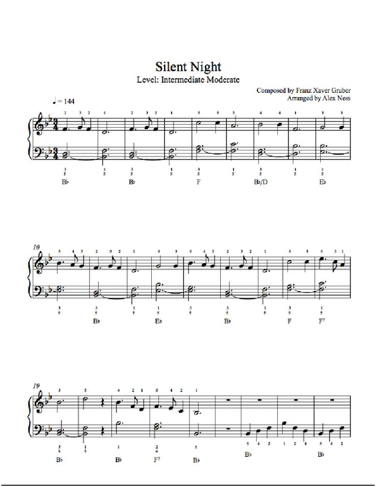 Piano piano bar songs sheet music : The 25+ best Silent night sheet music ideas on Pinterest | Music ...