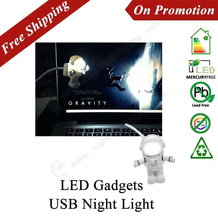 Best LED Gadgets, USB Night Lights, Spaceman Astronaut Shape, Cute Novelty - See more at: http://www.lightingshopping.com/led-gadgets-usb-night-lights-spaceman-astronaut-shape-cute-novelty.html
