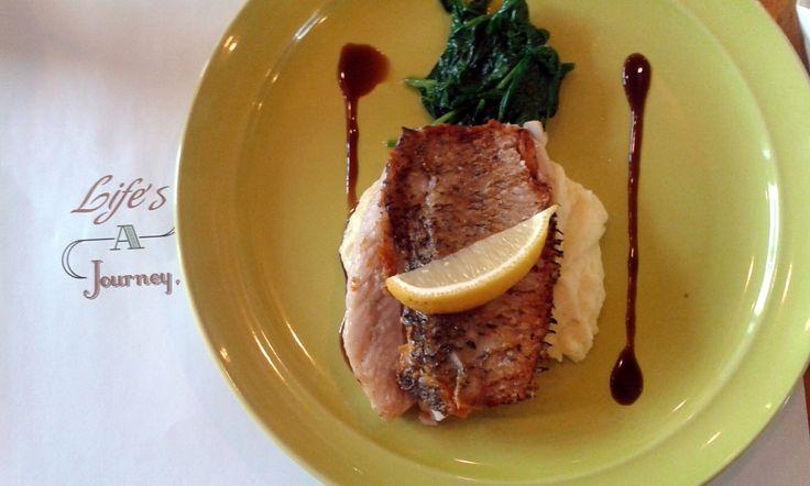 Fish something @ Koultoura Coffee