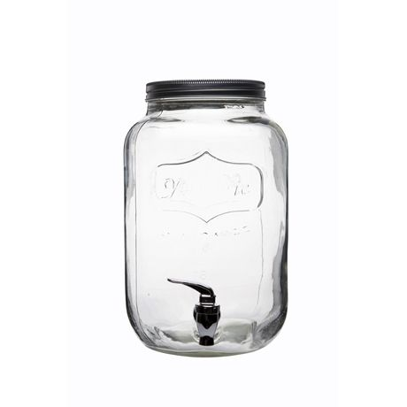 Mason Jar Drink Dispenser 7.5 Litre :: Freedom :: $61.95 For the HOUSE WARMING!!! Yeah baby!
