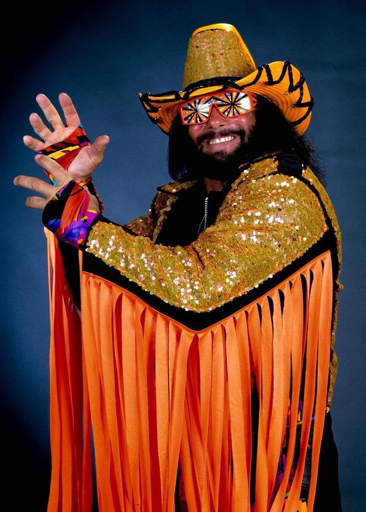 "Professional wrestler Randy ""Macho Man"" Savage, whose real name was Randy Mario Poffo, died in a May 2011 car crash related to an irregular heartbeat. WWE"