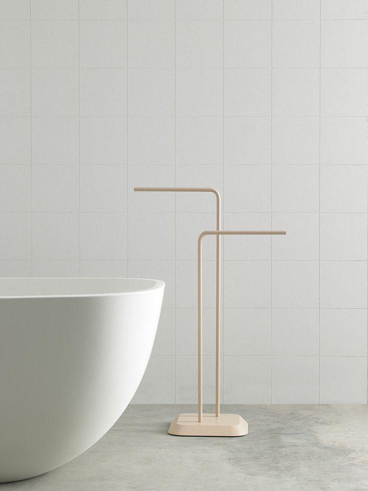 Fluent collection by Inbani. #bathroom #furniture #design #bathtub