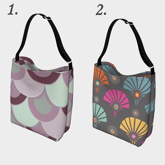 Art deco tote bag,Geometric tote bag,Day tote,shopping bag,designer ...
