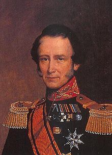 Frederick of the Netherlands (1797 - 1881). Son of William I and Wilhelmine of Prussia. He married Louise of Prussia and had four children.