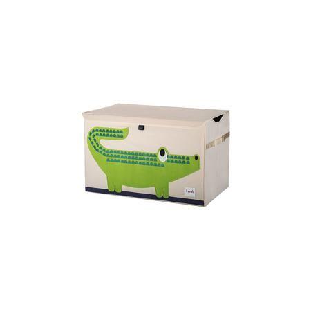3 Sprouts Сундук для хранения игрушек Крокодил (Green Crocodile), 3 Sprouts  — 2899р.  Стильный и вместительный сундук для хранения белья будет прекрасным декором в Вашей комнате!  Дополнительная информация:  - Размер: 38x61x37 см. - Материал: 100% полиэстер, 100% полиэстеровая фетровая аппликация, ДСП. - Орнамент: Крокодил.  Купить сундук для хранения игрушек Крокодил (Green Crocodile), можно в нашем магазине.