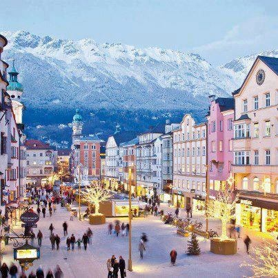 Maria-Theresien Strasse, Innsbruck, Austria >> been there before, but this makes me want to go back.