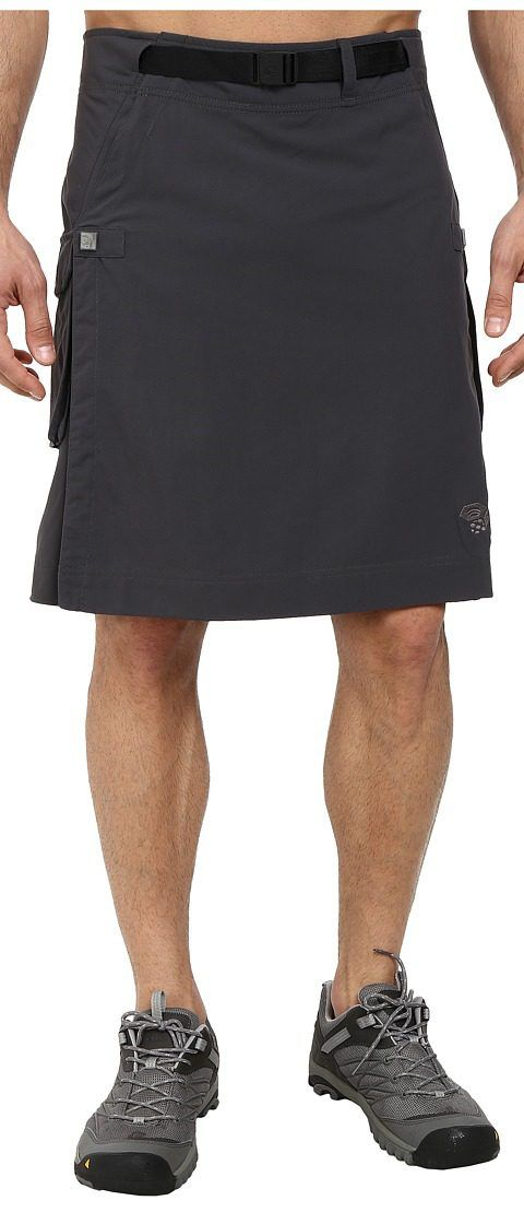 Mountain Hardwear Elkommando Kilt (Shark) Men's Skirt - Mountain Hardwear, Elkommando Kilt, 1333081-011, Men's Athletic Outdoor Performance Clothing Bottoms Hiking/Travel, Skirt, Bottom, Apparel, Clothes Clothing, Gift, - Street Fashion And Style Ideas