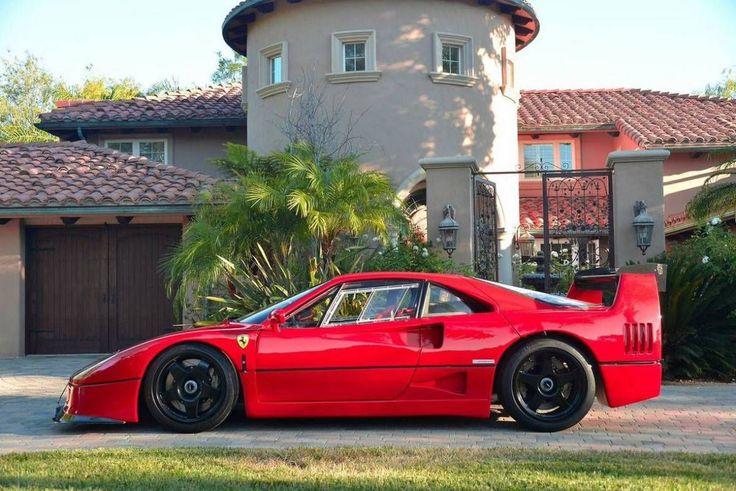 Ferrari F40 LM. Hire with Octopoda.co.uk