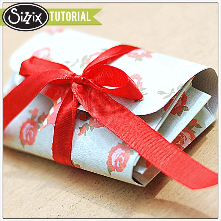 Sizzix Card Making Ideas Part - 36: Sizzix Inspiration | Thank You Accordion Mini Card And Wallet By Genevive  Rulona
