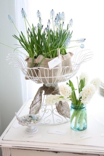 .flowers in urn