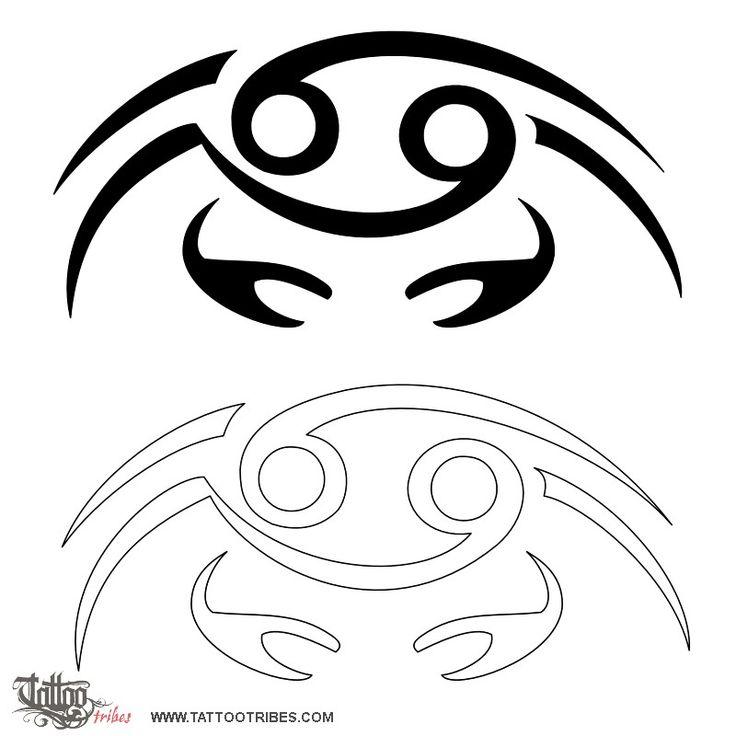 TATTOO TRIBES - Dai forma ai tuoi sogni, Tatuaggi con significato - cancro, zodiaco, granchio, numero due, emotività, coinvolgimento, intelligenza