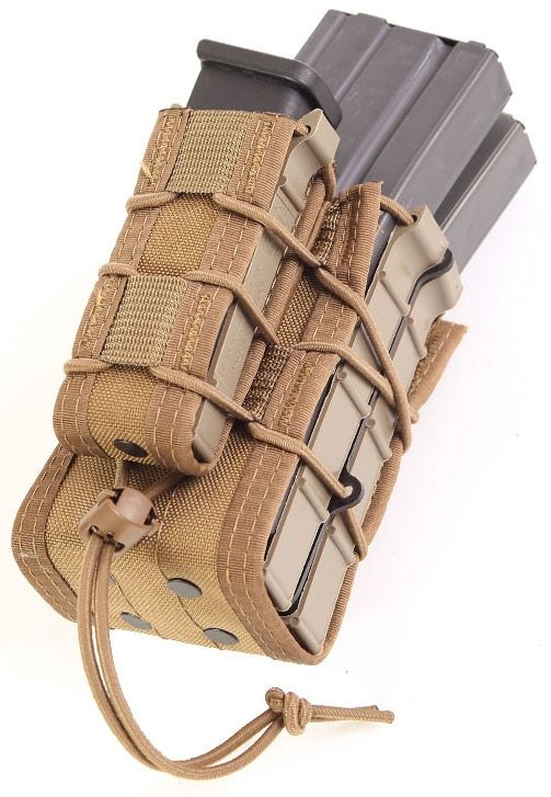 HSGI X2RP TACO Modular Double Rifle / Single Pistol Magazine Pouch