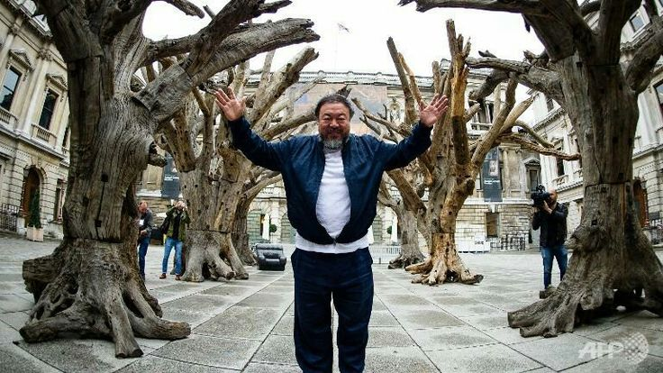 AI WEIWEI At the Downing College