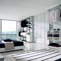 NIGHT COLLECTION: Camera da letto in stile in stile Moderno di Trabattoni Industria Mobili