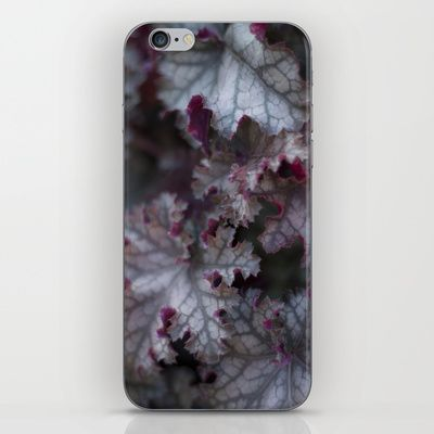 Purple Leaves iPhone & iPod Skin  from FloraInspiro SHOP http://shop.florainspiro.com photo by Emelie Ekborg