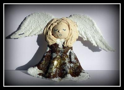 KarolaArt - Anioły z masy solnej...