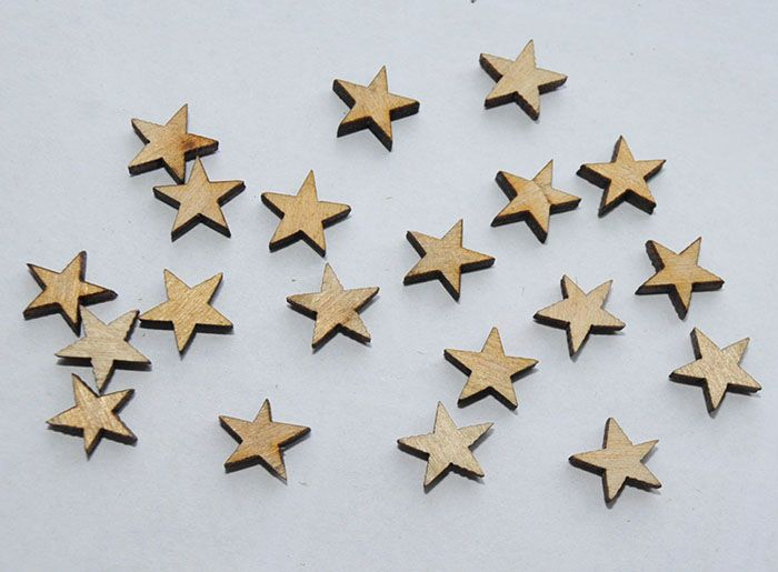 Mini Gwiazdki Scrapki 20szt. / little stars