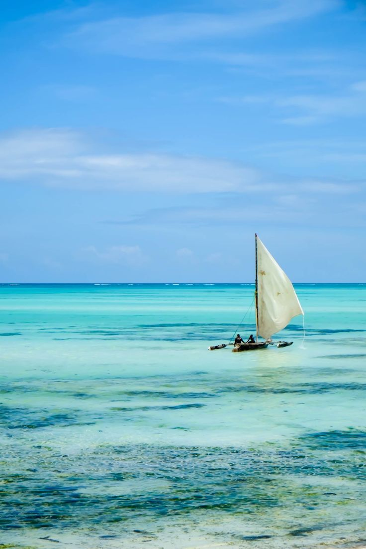 Beautiful Pongwe Beach on Zanzibar Island. Read on for the best beaches in East Africa.