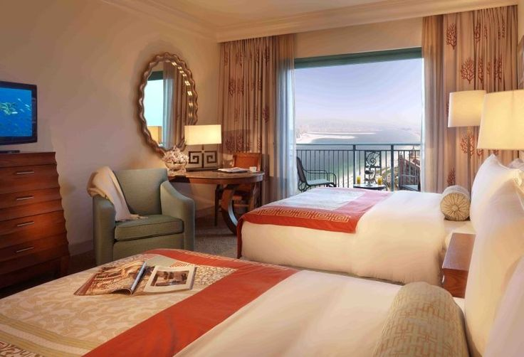 Breathtaking View of Arabian Sea from every Room at #Atlantis the Palm along with other #Luxurious Features