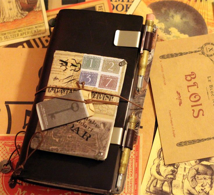 """This is an incredible notebook made by Midori. It is soft leather bound and has 64 pages. They are about 9""""x6"""" and about one half inch thick. Of course, it has Midori's wonderful acid free paper. Each"""