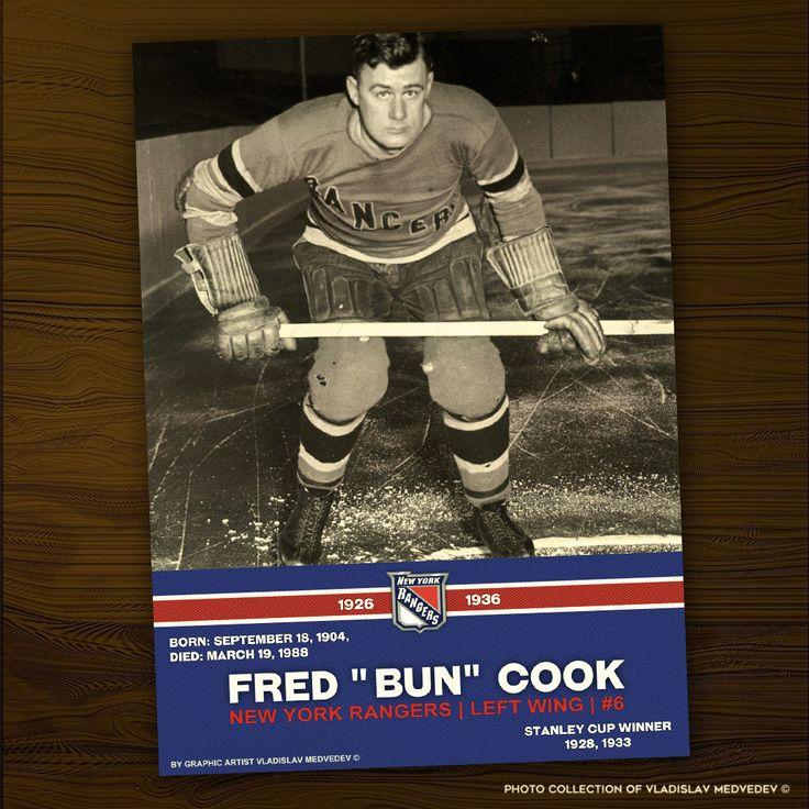 "Легенды НХЛ: Фред ""Бан"" Кук #хоккей #НХЛ #история #легенда #icehockey #NHL #newyorkrangers #bostonbruins"