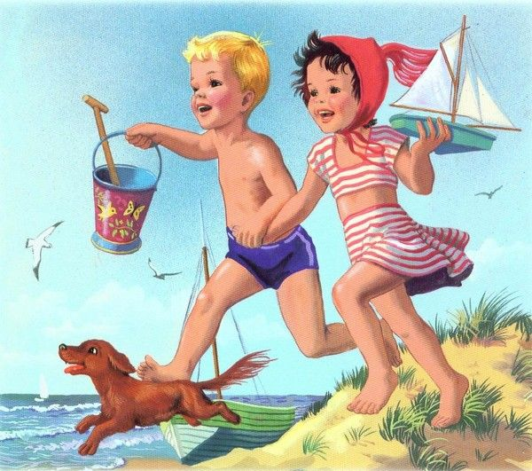 Martine à la plage, Marcel Marlier
