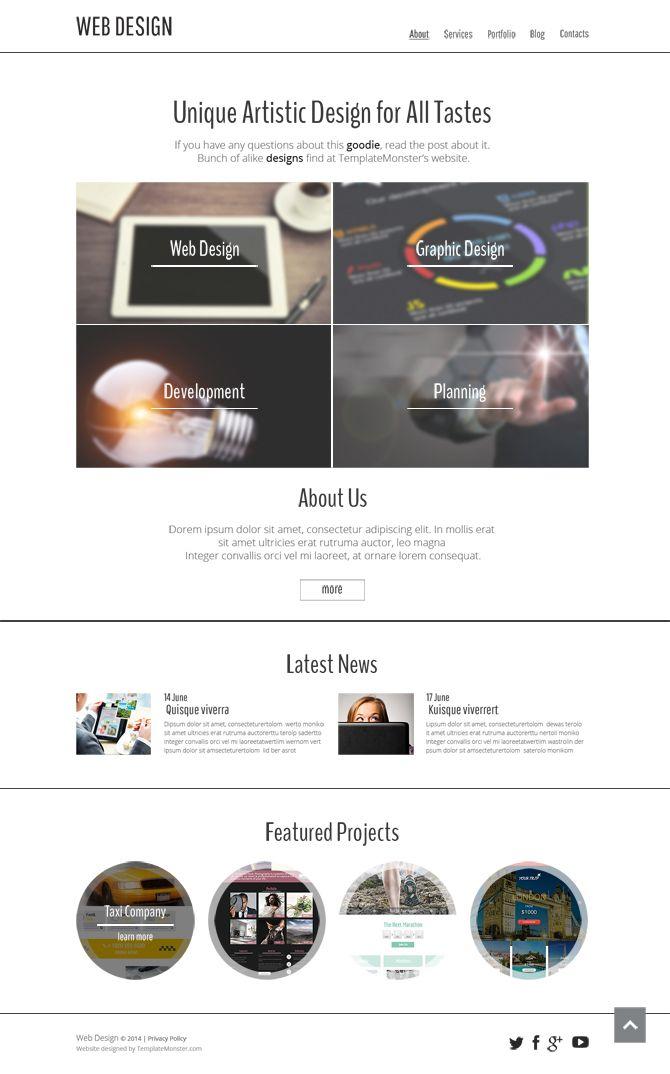 144 best FREE Website Templates images on Pinterest | Free website ...