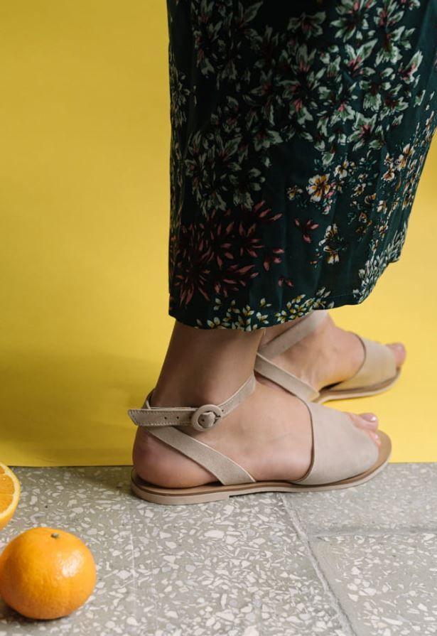 Bezowe Sandalki Idealne Na Lato Shoes Fashion Mary Janes