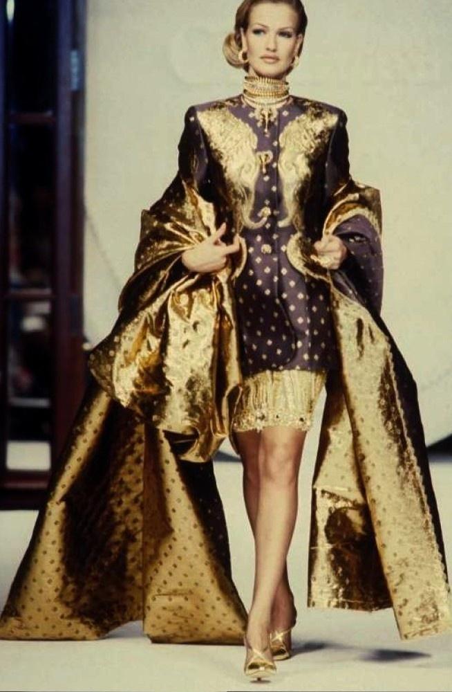 1991 Christian Dior #baroque