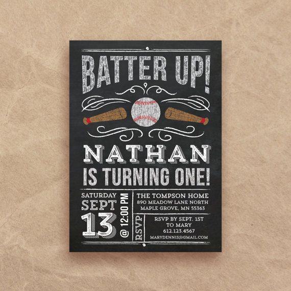 Best 20 Baseball birthday invitations ideas on Pinterest