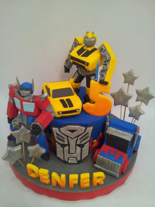9 best transformers bumblebee cake images on Pinterest