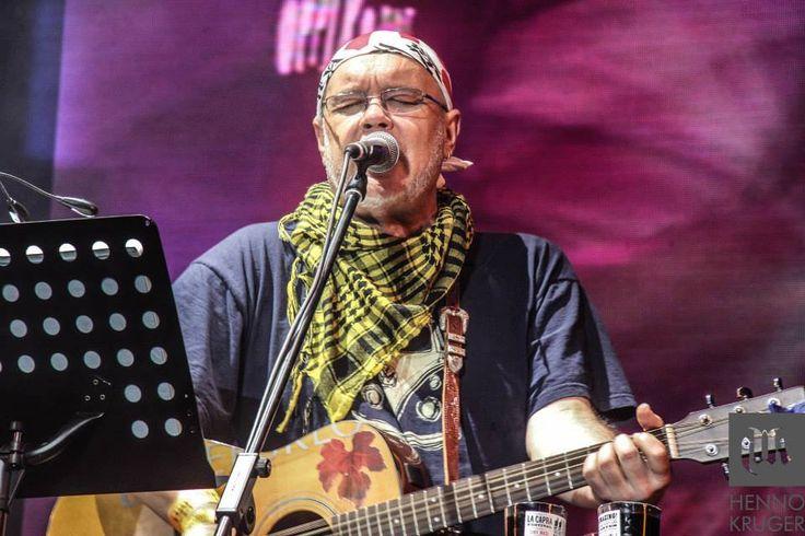 Koos Kombuis on stage at Oppikoppi 2013 Bewilderbeast