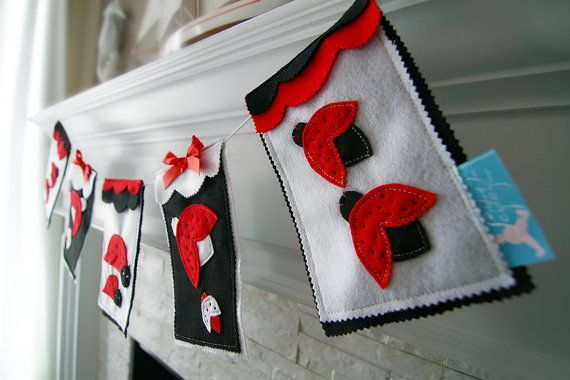 Ladybug Banner Ladybug Wall Decor Ladybug by HouseOfLaylayt