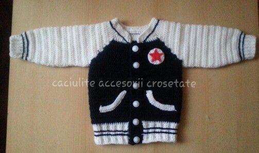 Crochet baby boy
