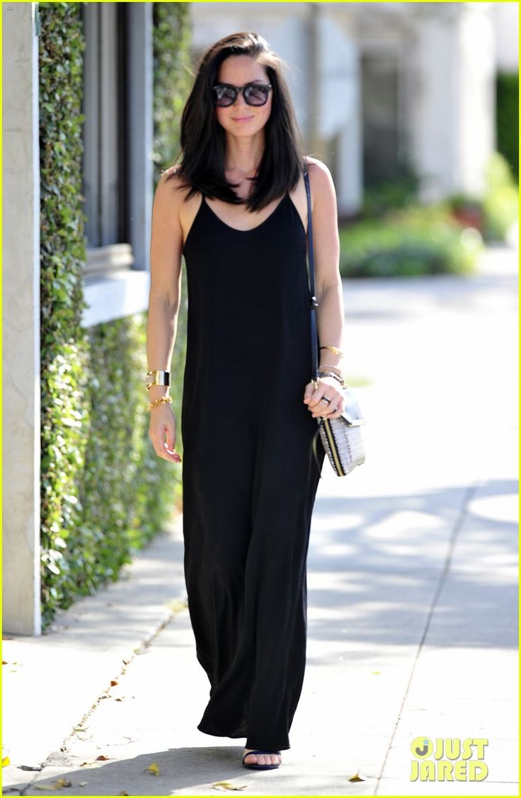 Olivia Munn out and about in Los Angeles with the Stella & Dot Tia Crossbody bag and Renegade Cluster bracelet