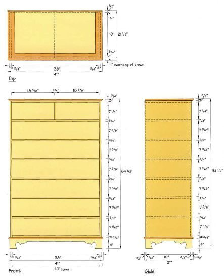 Woodworking plan for Chest. Complete woodworking plans with detail descriptions can be found on my website: www.tedswoodworkplans.com
