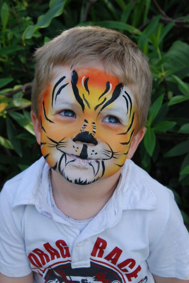 This tiger doesn't seem too scary!