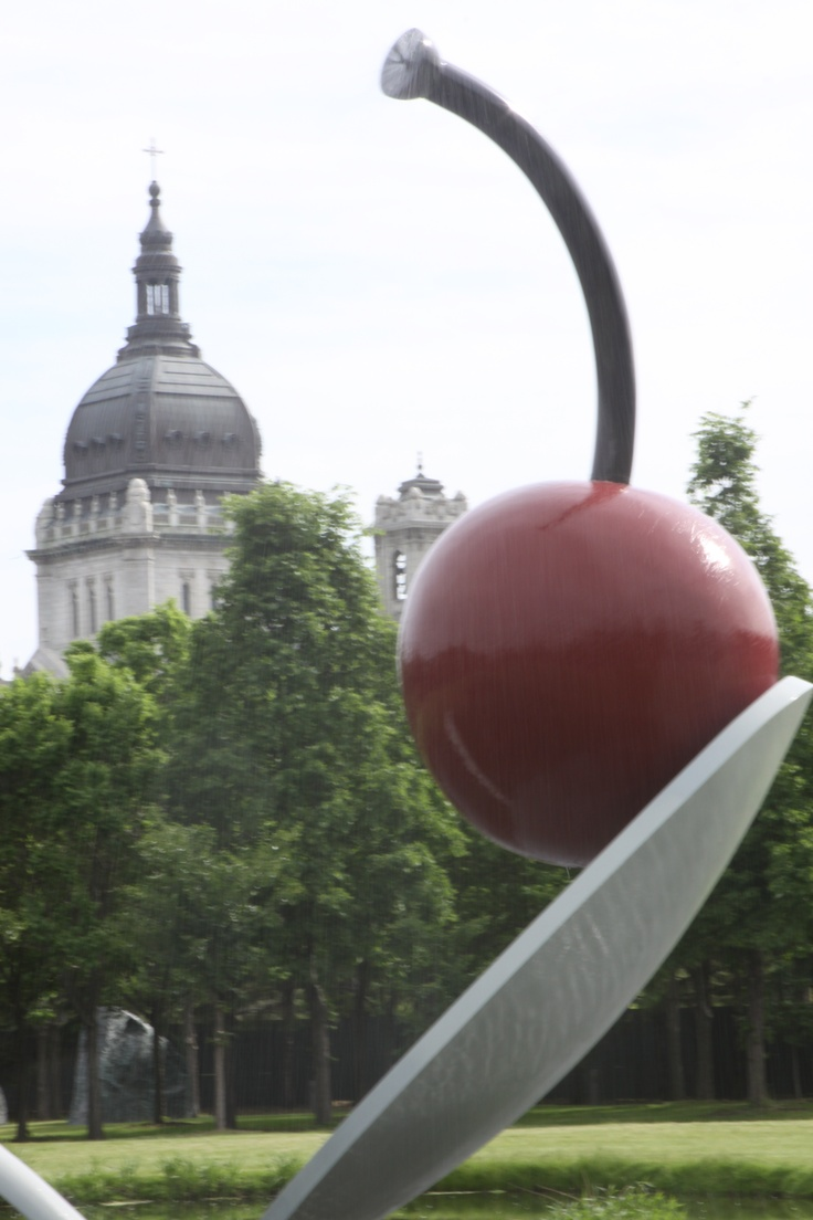 Spoonbridge and Cherry in the Minneapolis Sculpture Garden