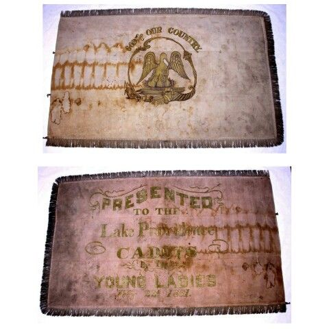 Louisiana Presentation Flag. The Lake Providence Cadets would become Company C, 4th Louisiana Infantry. After organization on May 25, 1861, the 4th received orders to serve on the Mississippi Gulf Coast. Through the summer, the companies were divided up between camps at Pascagoula, Biloxi, Pass Christian, Mississippi City, and Ship Island. After the evacuation of Ship Island in September, the regiment moved to Franklin and Brashear City to protect the lower Atchafalaya River and Bayou Te...