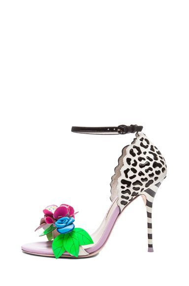 Sophia Webster Lilico Jungle Leather Heels fashiondreaming
