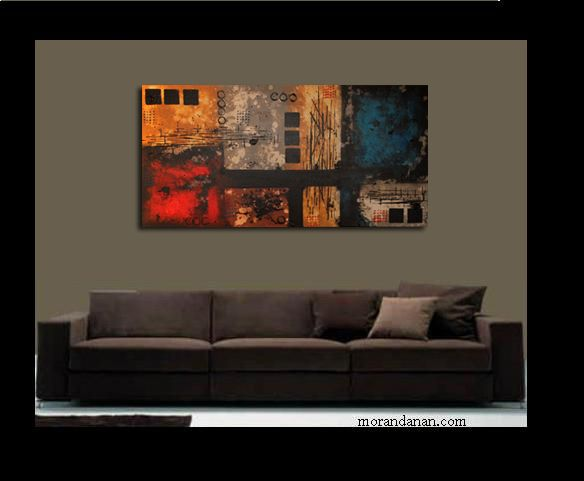 Price is $325.00 Painting measures 48×24″  – This painting is original and signed by the artist Moran Danan – This painting is quality professionally stretched on wood, and ready to hang on any wall. – This painting is stretched using staple free sides. – The sides of the painting painted, so there is no blank canvas viewable when hung on your wall. – When the painting is complete a Clear Varnish is applied to protect the painting for life.