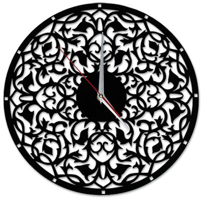 Acril wall clock $80