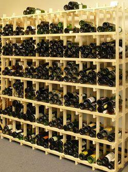 Casiers pour bouteilles, casier vin, cave à vin, rangement du vin, aménagement cave, casier bois, meuble en bois. Référence 600 : Meuble en bois pour le stockage de 600 bouteilles
