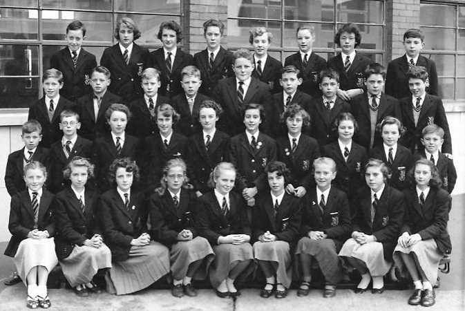 St Augustine's Secondary School 1965 L-R