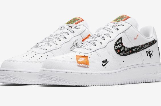 Official Images Nike Air Force 1 07 Premium Just Do It Dr Wong Emporium Of Tings Web Magazine Nike Air Force Nike Air Force Ones Nike Air