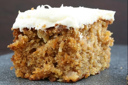 Sugar free, dairy free carrot cake. Use alternative flours and it's gluten free too!