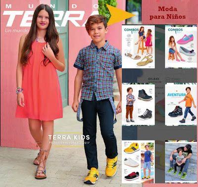 Moda de Niños Terra 2017. Ropa y zapatos moda infantil primavera verano