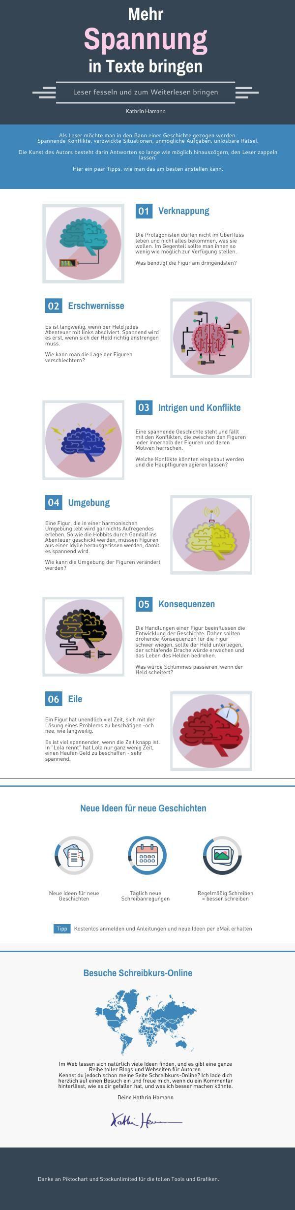 Spannung in Texte bringen | Piktochart Infographic Editor